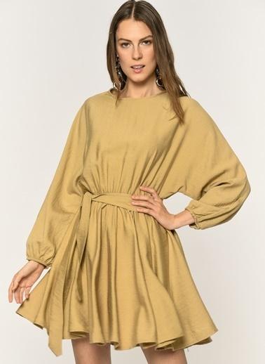 Loves You Elbise Camel